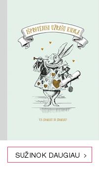 IŠPROTĖJUSI UŽRAŠŲ KNYGA: su originaliomis Lewis Carroll knygos iliustracijomis ir nemirtingomis citatomis iš knygos ALISA STEBUKLŲ ŠALYJE
