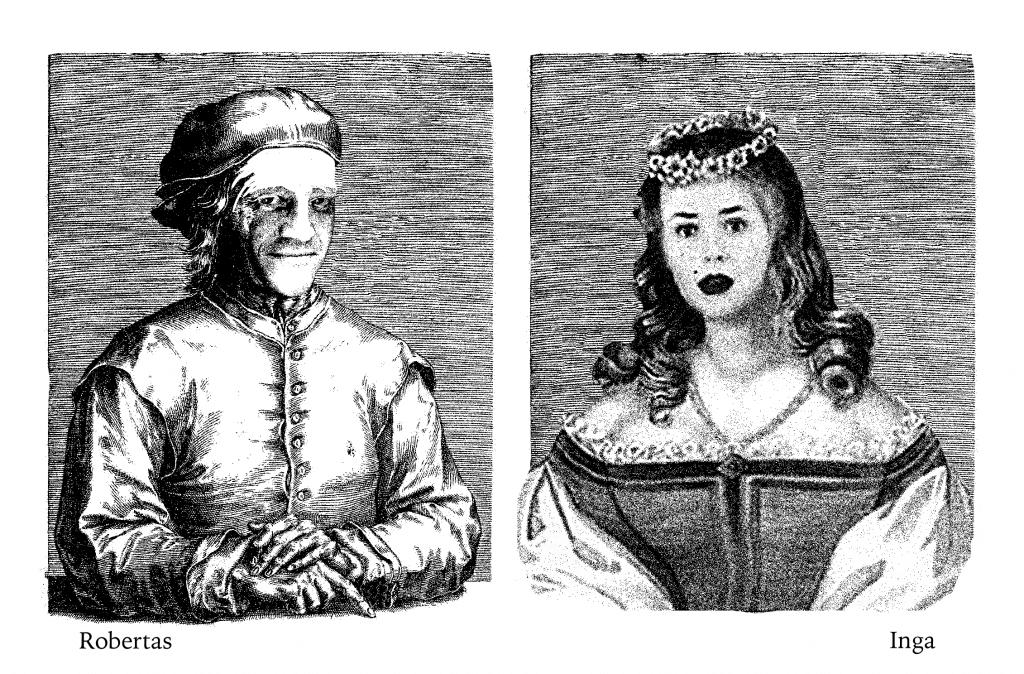 Inga Navickaitė ir Robertas Kudirka