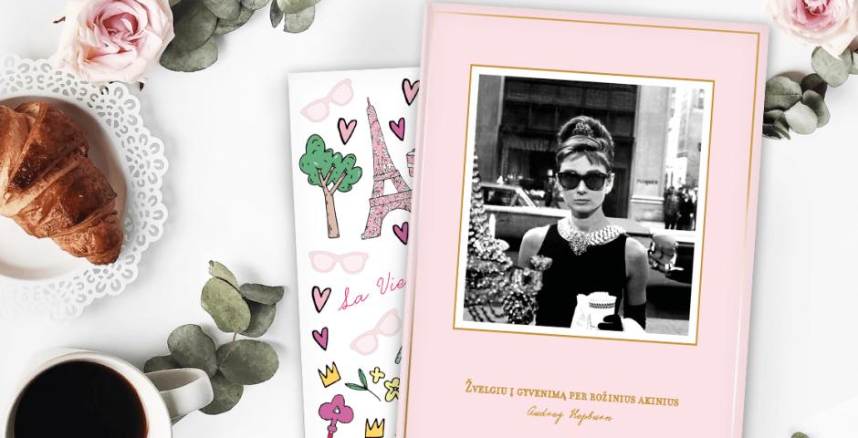 Žvelk į gyvenimą per rožinius akinius kaip Audrey Hepburn
